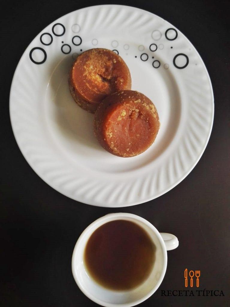Dish with panela