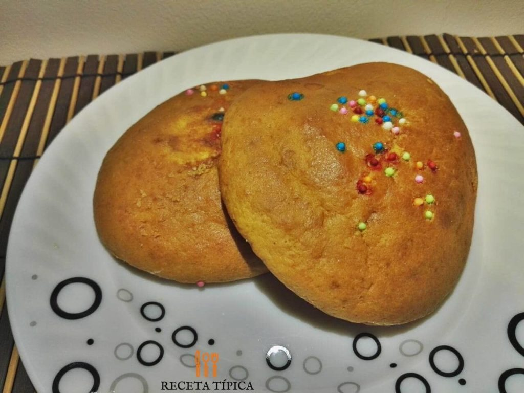 Mantecadas or corn cake