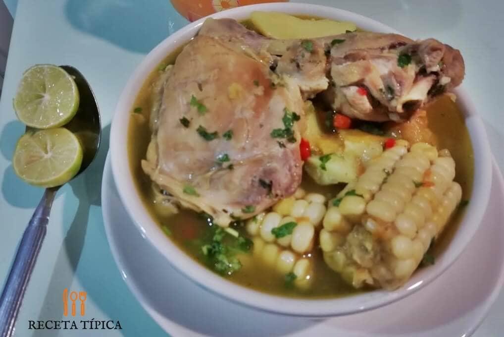 Delicious Chicken Sancocho