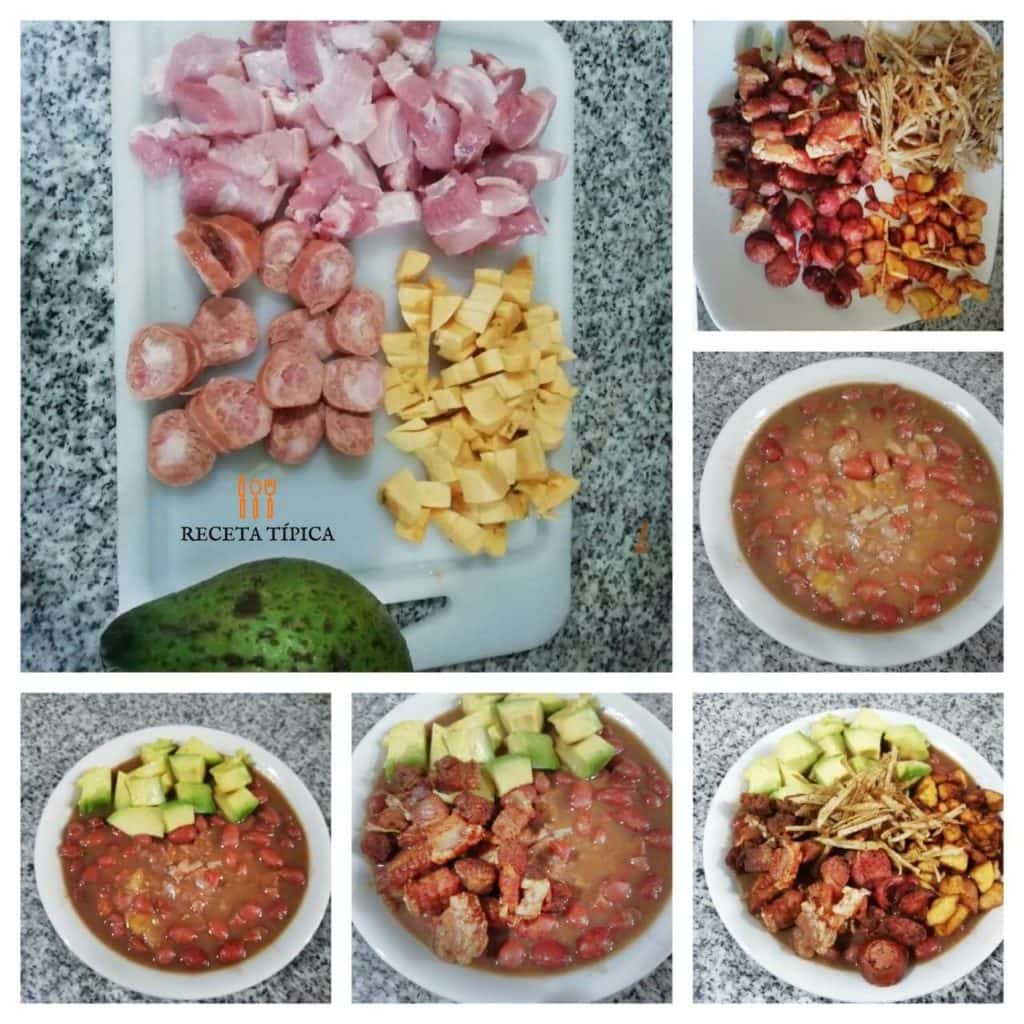 Step by step instructions Beans Casserole