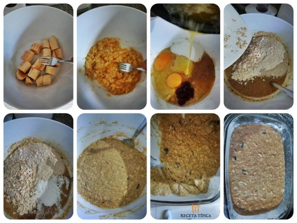 Step by step instructions to prepare banana oatmeal bread