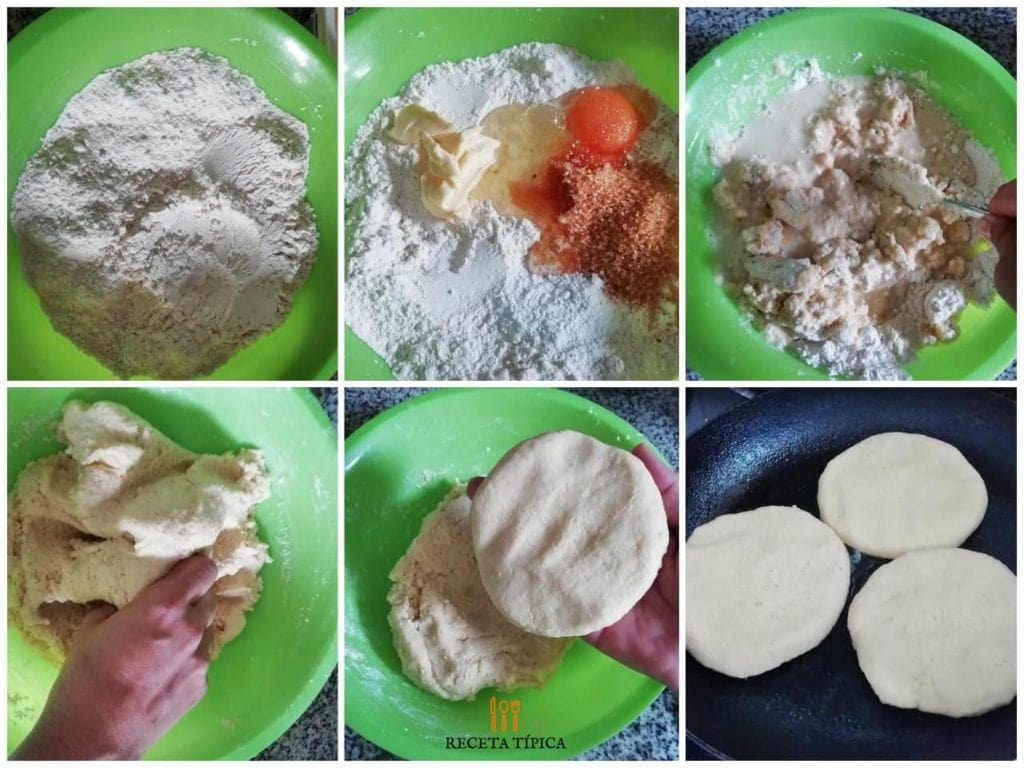 Step by step instructions to prepare wheat flour arepas