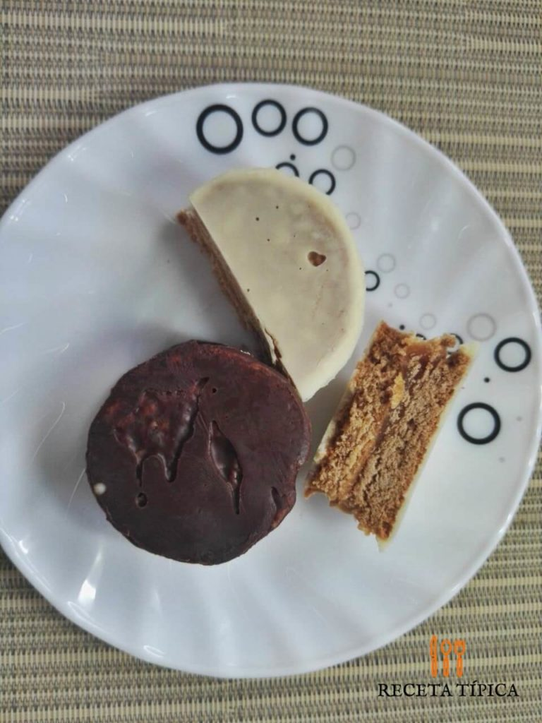 Plate with Alfajores Cookies