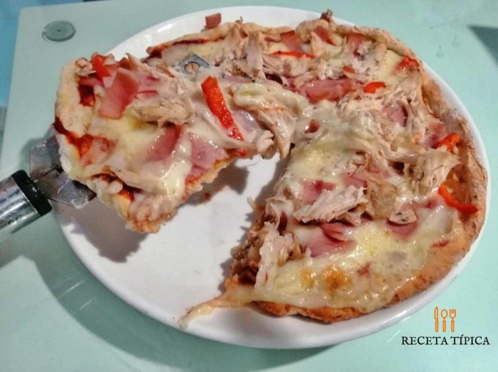 Cauliflower-based pizza