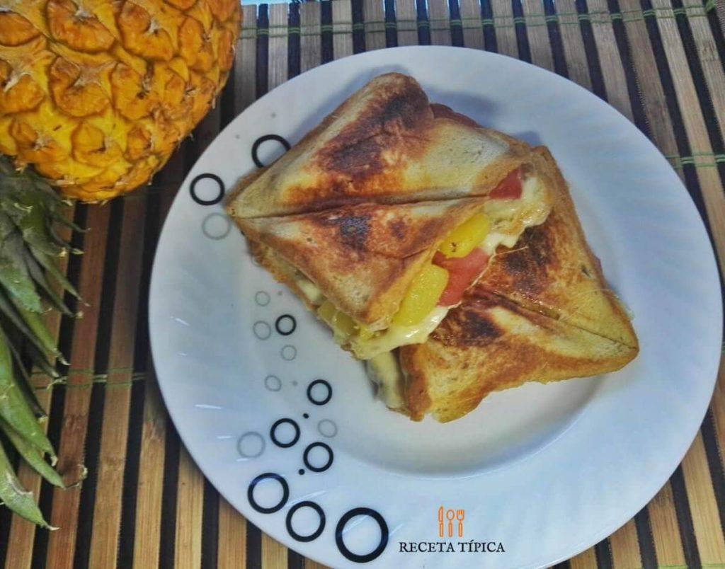 Hawaiian sandwich